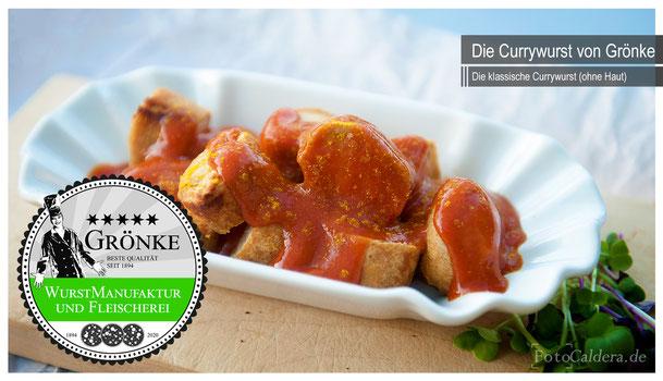 Berliner Currywurst aus der Wurstmanufaktur Grönke