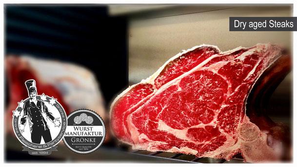 Dry Aged Steak bei Fleischermeister Grönke