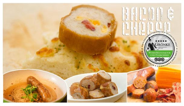 Die herzhafte Bacon & Cheese Grillwurst bringt Spaß auf den Grill