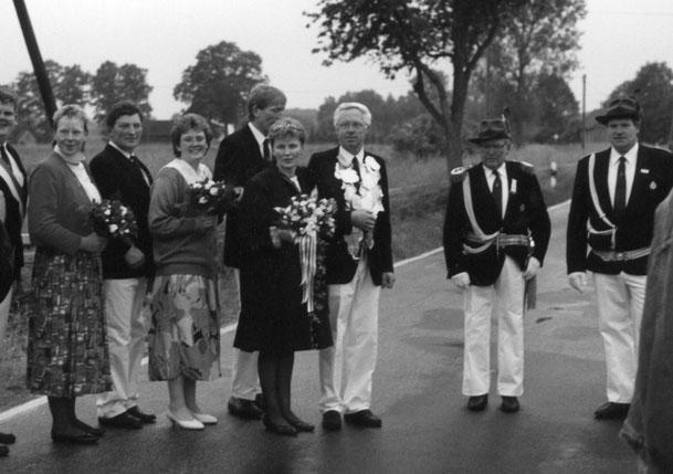 Helmut Völker stellte im Jahr 1991 zusammen mit Elisabeth Völker das Königspaar.