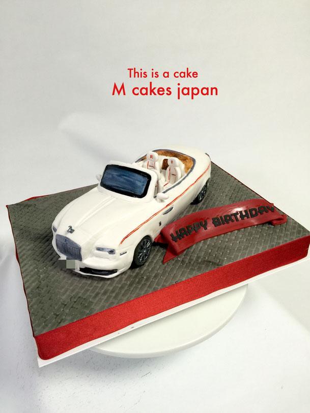 #ロールスロイス #ロールスロイスドーン #めっちゃ高級 #ケーキが車の中に #感動 #テンション上がる #夢の車