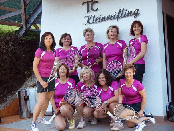 45+ Damen steigen in die Oberösterreich-Liga auf - Herzlichen Glückwunsch