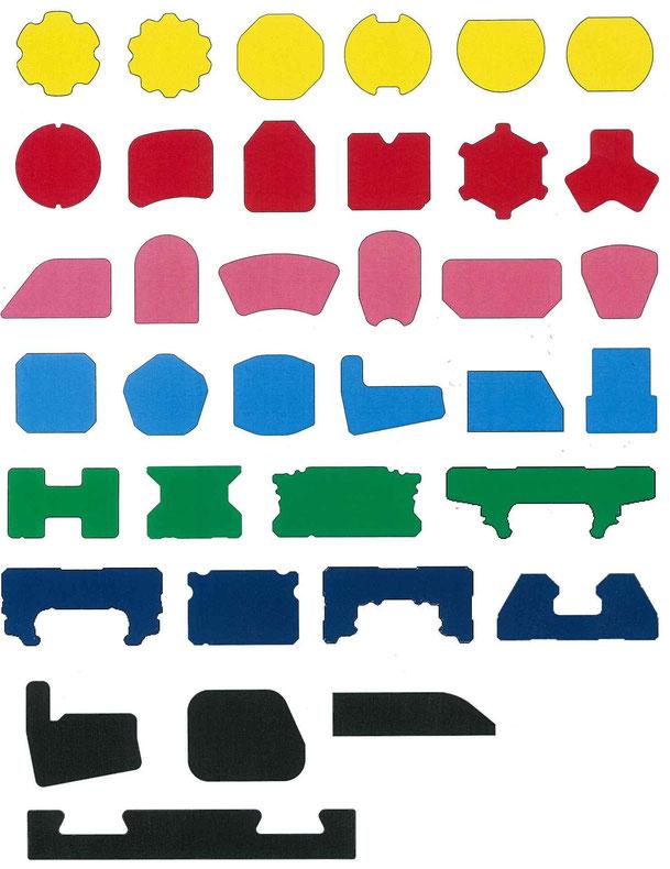 スプライン異形 八角異形 溝付き異形 Dカット異形 半丸異形 小判型異形 ドレイン異形 角付き異形 三山異形 ひし形異形 各種特殊異形 レール異形 ブロック異形 ラーメン構造用異形 セレーション異形 平鋼 角鋼 六角