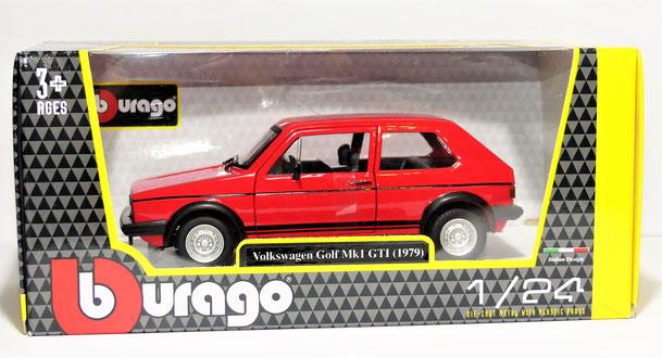 Bburago,VW Golf, GTI, Mk1,1:24