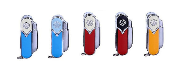 """VW """"Tools"""" ,Feuerzeug,Taschenmesser,Schere,"""