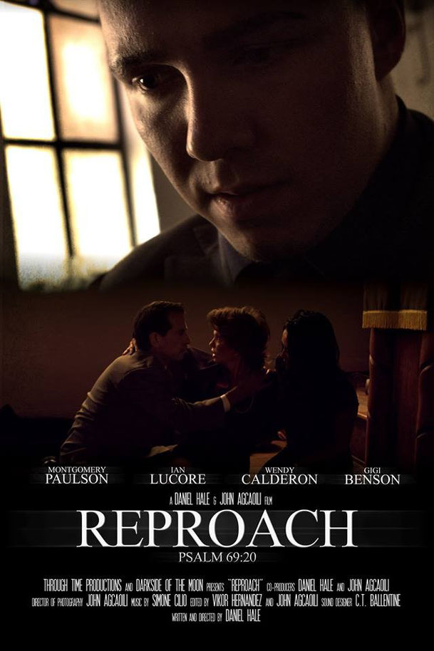 "Official poster of ""Reproach"""