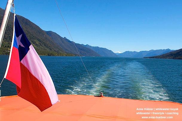 Chile - Land der Vulkane und Wasserfälle - Chile Kajak-Trip mit Anne Huebner