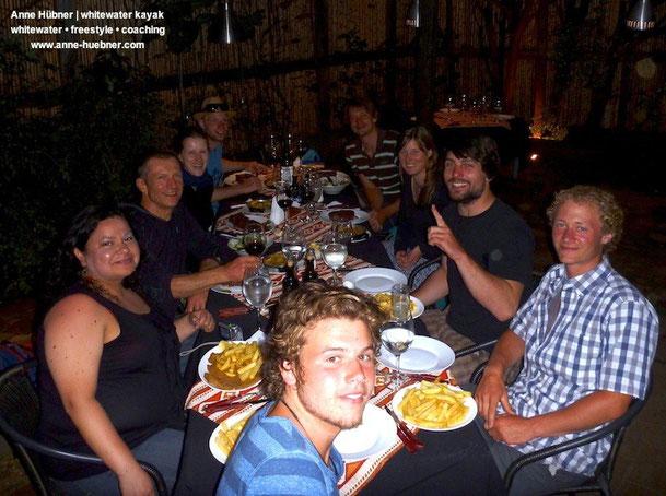 Chile Kajak-Trip mit Anne Huebner