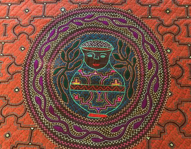 Shipibotuch aus Peru bei Shantiwoman