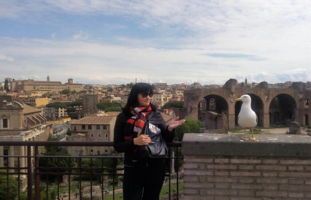 Гид в Риме Людмила фото