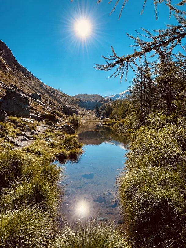 Grindjesee Zermatt Sommer 2021