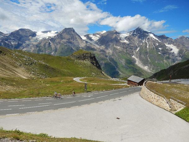 Am Weg auf den Großglockner mit dem Rennrad