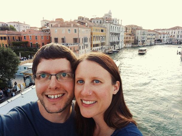 Flo und Anna in Venedig