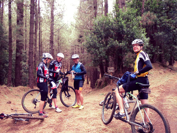 Mountainbiken an der Ostküste