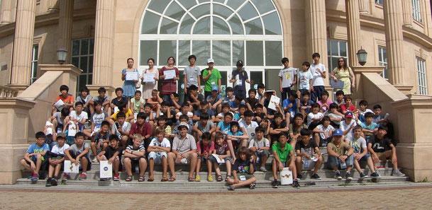 2014年夏 日本、韓国、ロシアの生徒