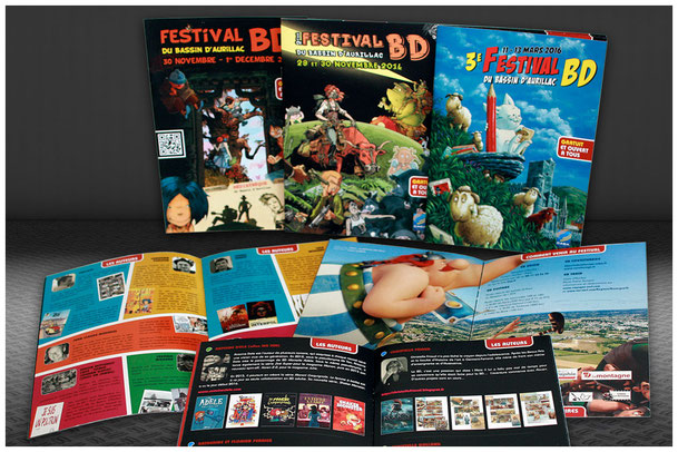 Programme Festival BD Aurillac