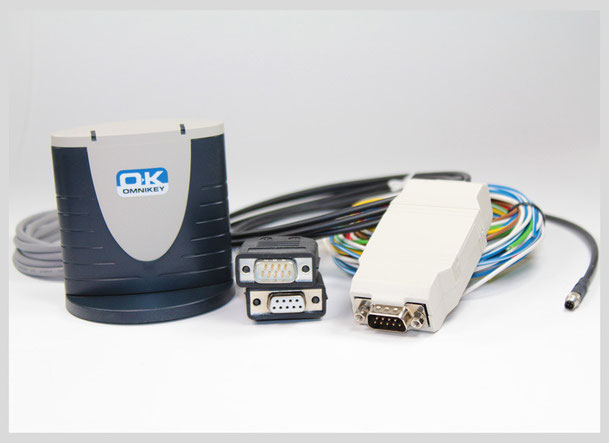 Tacho Remote Download, Anschlussstecker und Kartenleser