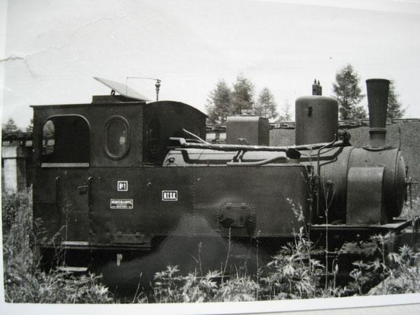 1920年ドイツ ベルリンで製造されたコッペル社製NO・1号車輌