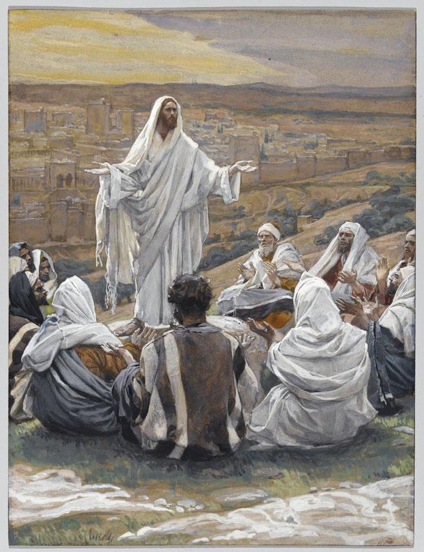 ジェームズ・ティソ「主の祈り」、1886-1894年、ブルックリン美術館