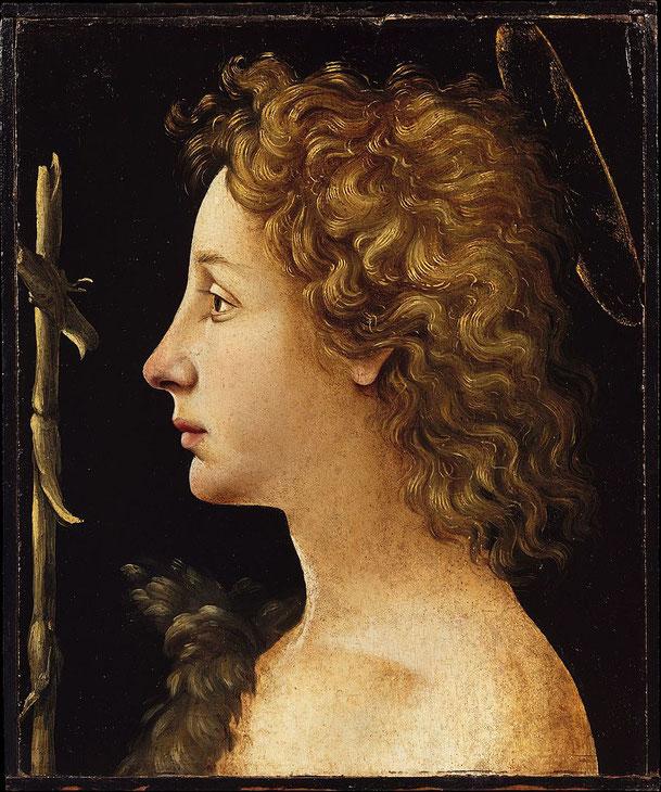 ピエロ・ディ・コジモ「若き洗礼者聖ヨハネ」、1490年代、メトロポリタン美術館