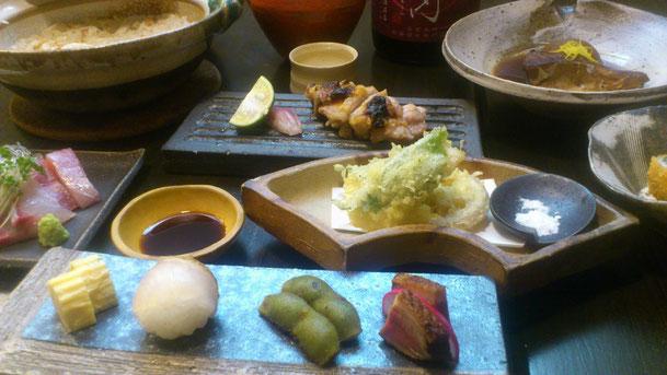 和び茶びコース料理