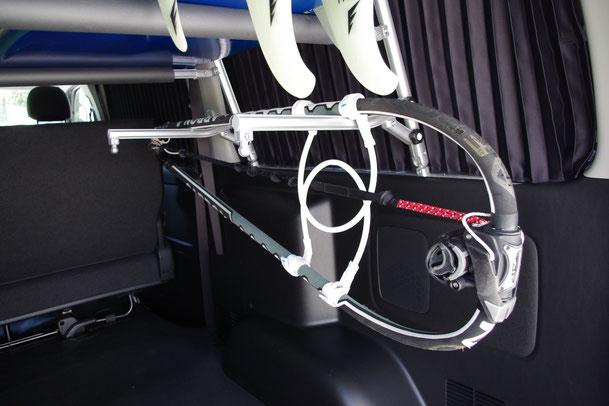 ウインドサーフィン ウインド ハイ・ウインド 車内キャリア 室内キャリア キャリア ラック 収納 トランポ トランポプロ
