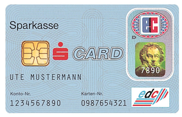 A type of debit card used by most people in Germany