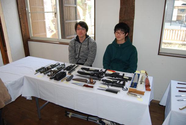 イベント参加者のコレクション展示・販売