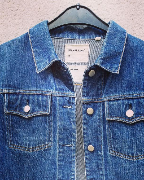 authentic Helmut Lang 1990s jeans jacket. @ polyklamott secondhandshop 1060 vienna