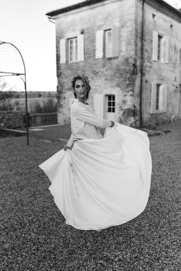 Mariée-danse-bonheur-mariage-magique-wedding-planner-limoges-dordogne