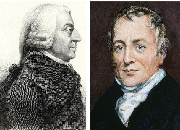 Adam Smith e David Ricardo