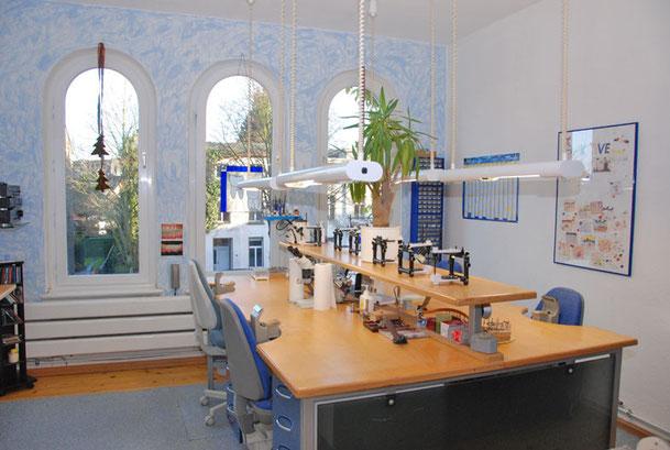Blick in die Labor Räumlichkeiten
