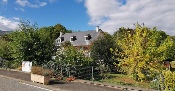Vue Casa Bonita et jardin