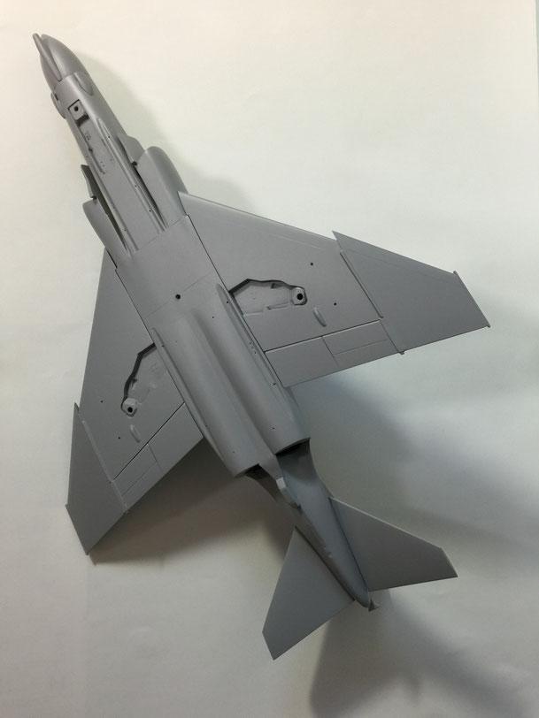 機体の裏です(2016.1.3)