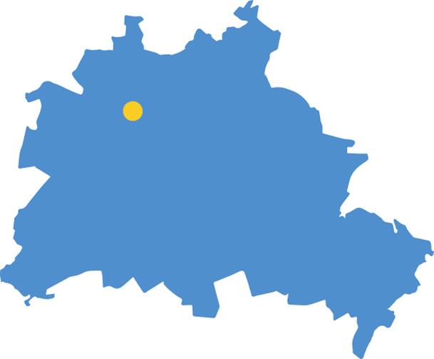 Das OSZ Gesundheit liegt im Nordwesten von Berlin im Stadtbezirk Wedding.