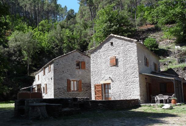 Hameau du Martinet Haut, au coeur des Cévennes, Vallée du Galeizon