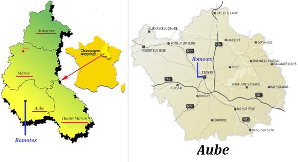 La Champagne Ardenne et l'Aube