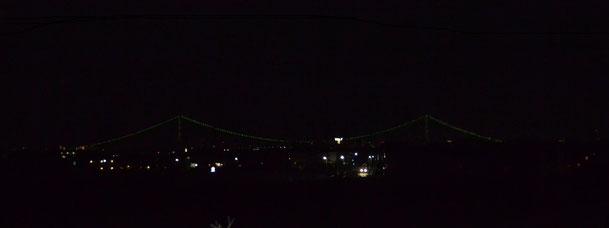 2013年5月3日上津橋から明石海峡大橋