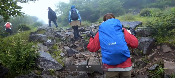 COVID-19感染を防ぐ登山(齋藤氏・木村氏提供)