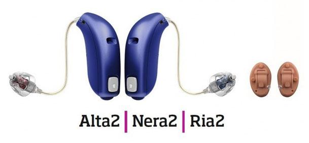 「Alta2、Nera2、Ria2」