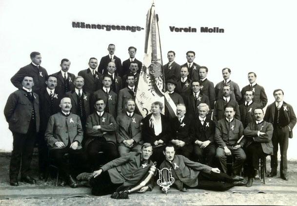 Fahnenweihe am 20. Aug. 1922