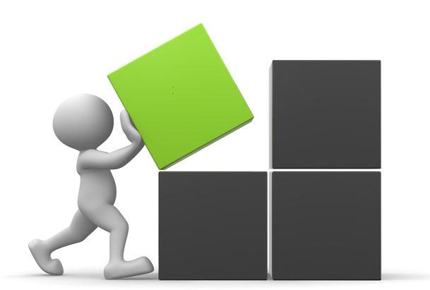 Stärkentrainer Team: Unser Change Management Online ist modular aufgebaut.
