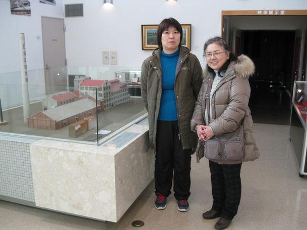 東京からご来館のK・K様(左側)、Y・T様