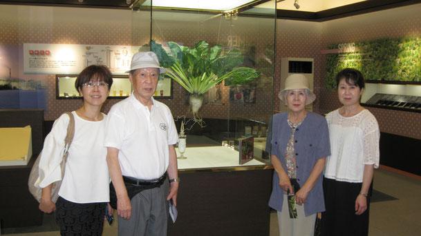 釧路からご来館のT・N様ご家族