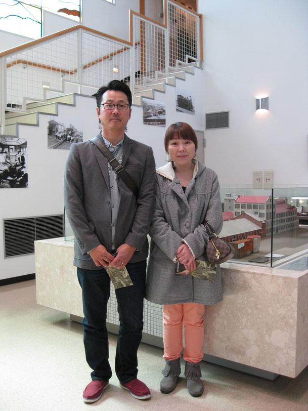 札幌からご来館のY・W様ご夫妻