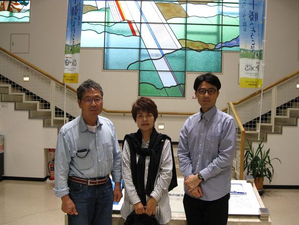 兵庫県丹波市から来られたご両親とH・Y様
