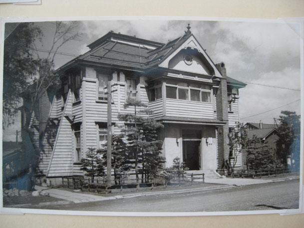 当社の前身、北海道製糖㈱時代の社屋