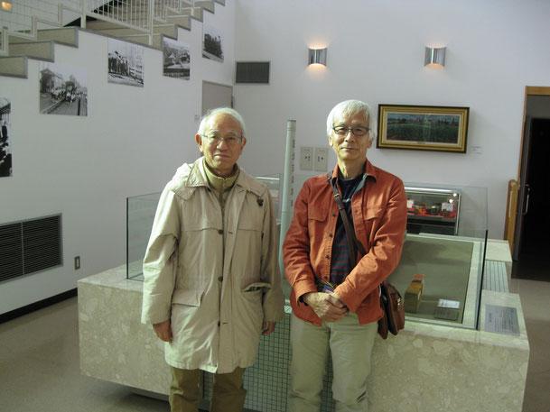 写真右側:長野からご来館のA・M様、左側:東京からご来館のK・Y様