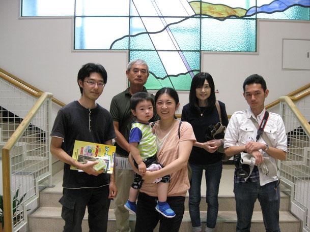 S・S様ご家族、愛知県からご来館