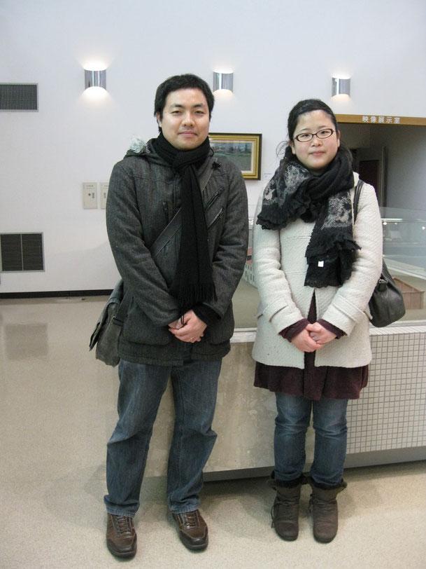 札幌からご来館のH・S様ご夫妻